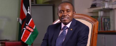 File image of ICT CS Joe Mucheru