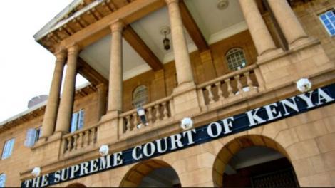File image of the Kenya supreme court