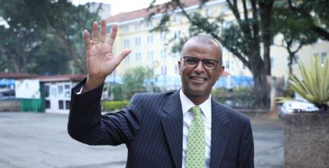 Senior Counsel Philip Murgor appearing for the CJ interviews on Friday, April 16, 2021.