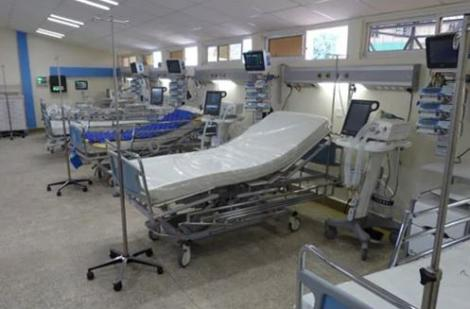 AN ICU bed at a health facility in Kenya.