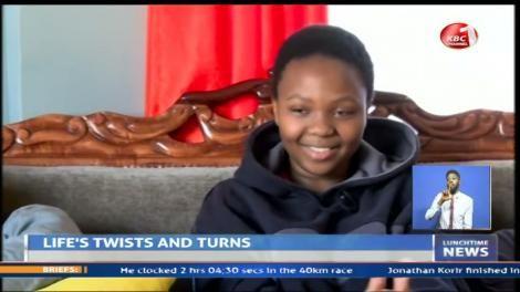 Illiana Barasa, daughter of KBC video editor Betty Barasa.