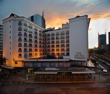 The Sarova Stanley Hotel along Kimathi Street in Nairobi CBD