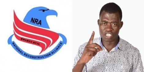National Reconstruction Alliance (NRA) Secretary General Amemba Magufuli