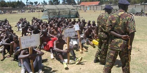 A KDF recruitment exercise