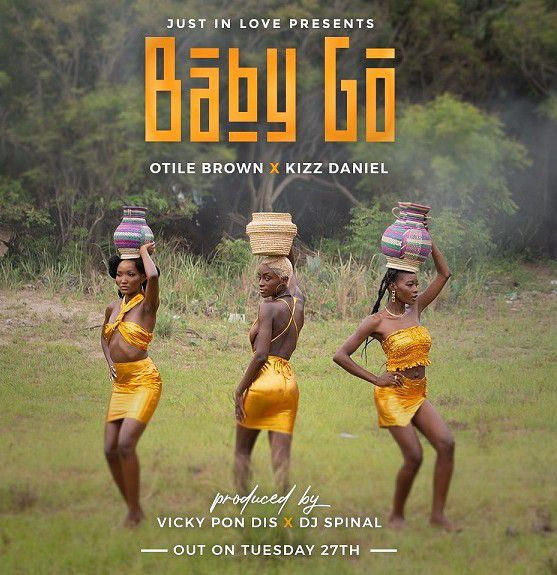 Otile Brown ft Kizz Daniel – Baby Go