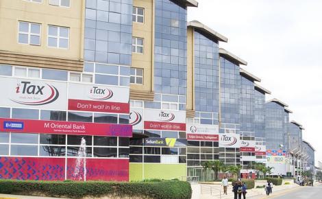 Kenya Revenue Authority Offices along Mombasa Road, Nairobi.