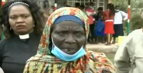 The mother of the child who return after going missing after three years