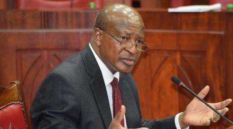 Attorney General Paul Kihara Kariuki.