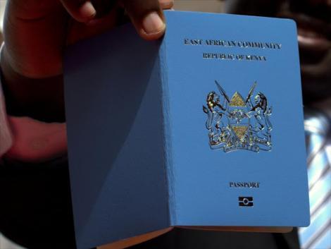 New look of the Kenyan Passport