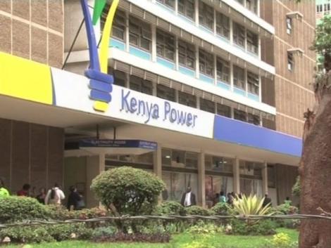 Kenya Power Building in Nairobi CBD