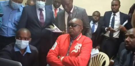 Kapseret MP Oscar Sudi during the court proceedings on September 14, 2020.