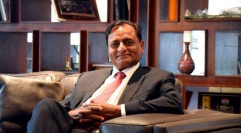 Devki Group Chairman, Narendra Raval, seated in his Ruiru Office.