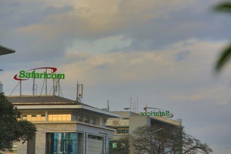 Safaricom House buildings along Waiyaki Way, Nairobi pictured on March 6, 2020.