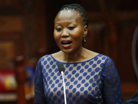 Former Independent Electoral and Boundaries Commission (IEBC) commissioner, Dr Roselyne Akombe.