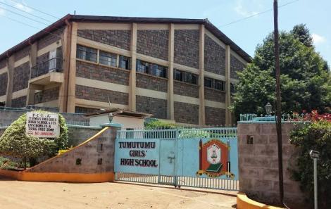 Entrance to Tumutumu Mission School, now Tumutumu Girls' High School.