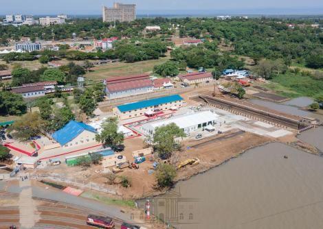 An overview of the Kisumu port