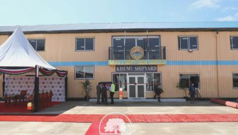 The KSL offices in Kisumu on May 31, 2021.