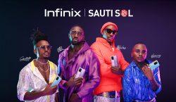 Infinix unveils Sauti Sol as its new brand ambassador