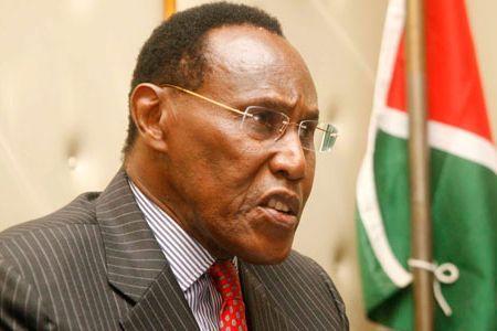 The late Former Vice President George Saitoti