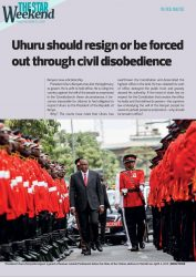 Read: State forces the star to delete this article on resignation of uhuru