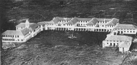 An aerial view of the Nairobi School established 1902.