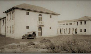 A story building of the Government Indian School or The Duke of Gloucester School, now Jamhuri High School