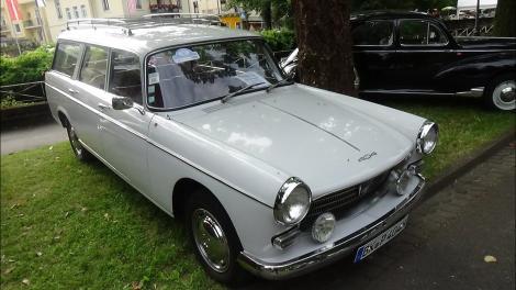 A file image of a vintage 1968 Peugeot 404