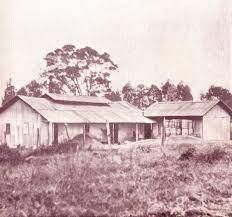 The first District Officers' Office and Courthouse in Nairobi.