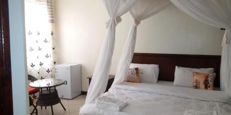 Inside one of the rooms at Marcia Hotel along Mombasa Road