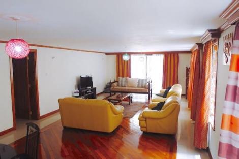 A airbnb in Kilimani estate, Nairobi.