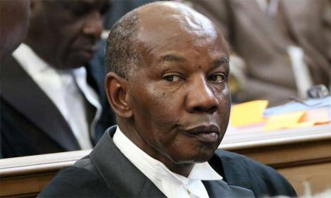 Senior Counsel Fred Ngatia during a past court session