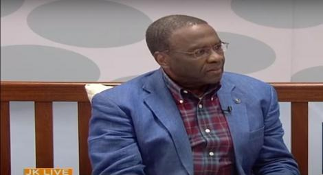 Former Chief Justice Willy Mutunga on JKLive on October 22, 2020