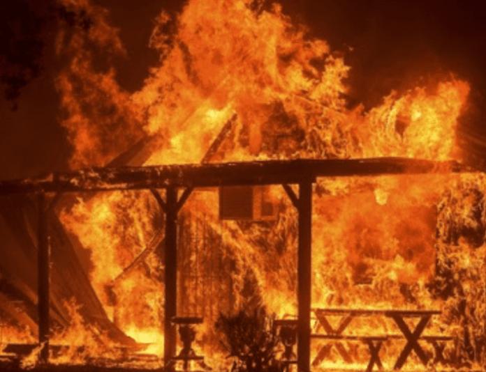 VIDEO: Fire burns down school dormitory in Nairobi