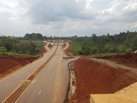 A Section of the James Gichuru- Rironi Road. PHOTO: TWITTER