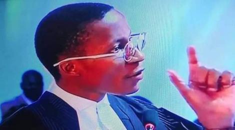 Lawyer Christian Andole