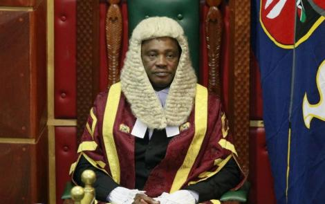National Assembly Speaker Justin Muturi during a past sitting.
