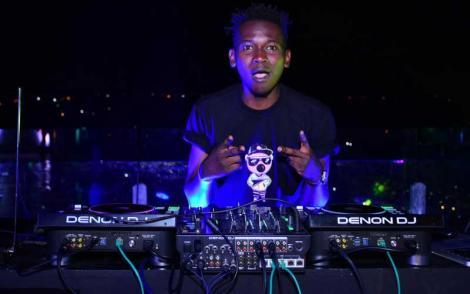 Felix Orinda alias DJ Evolve.
