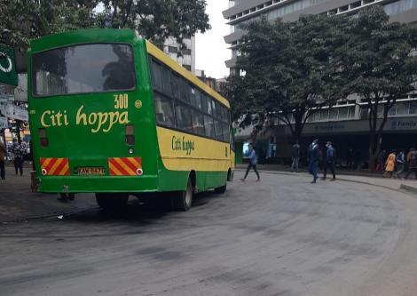 An image of a recarpeted lane in Nairobi Taken On July 8,2021.