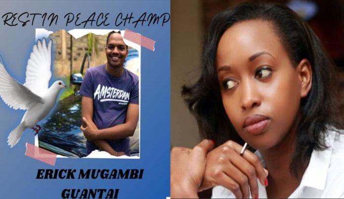 Kenyans join TV personality Janet Mbugua in mourning Eric Gambi Guantai