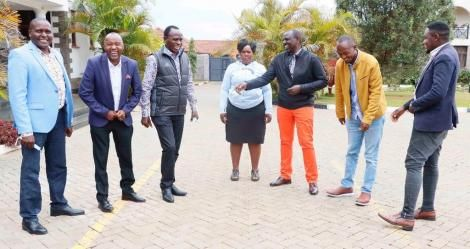 William Ruto and a Section of Ukambani Leaders