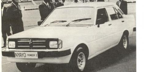 A Nyayo Pioneer Car