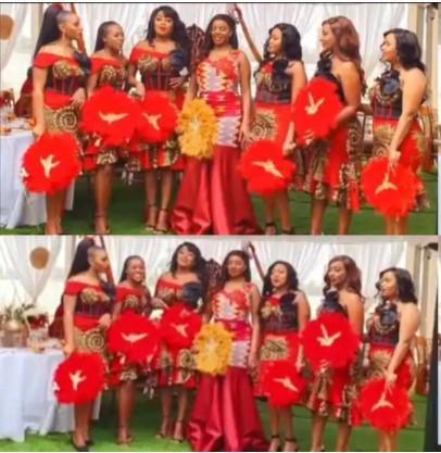 Muthoni Wa Mukiri and Her Star-studded Bridal Team