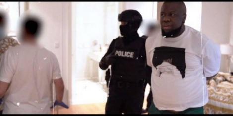 Hushpuppi getting arrested