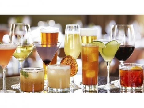 File image of drinks.