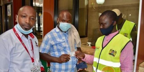 Huduma namba being distributed in Nairobi on Thursday, February 4