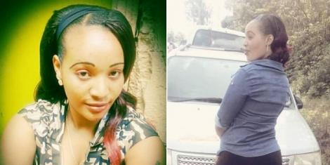 Joyce Nyambura, a woman who was allegedly fatally stabbed by the boyfriend on July 27, 2021.