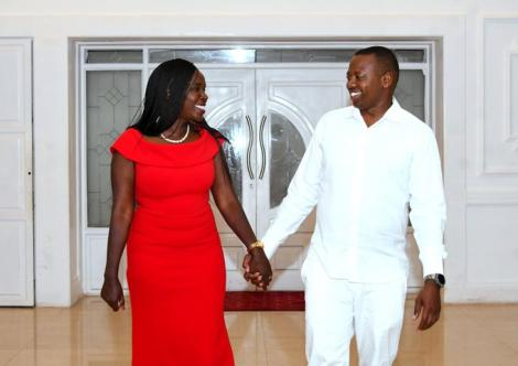 Deputy President William Ruto's younger brother, David Ruto, and his wife, Carol Ruto