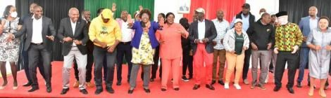 DP William Ruto hosted MPs & MCAs from Mt Kenya region on Saturday, June 3 at his Karen residence