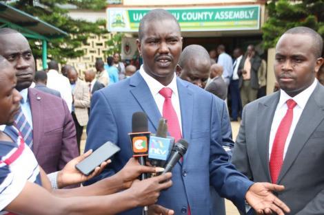 Uasin Gishu governor Jackson Mandago