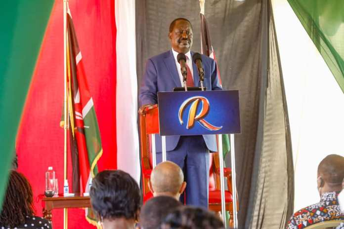 Here is Raila's strong promise to Kenyans if elected President 2022